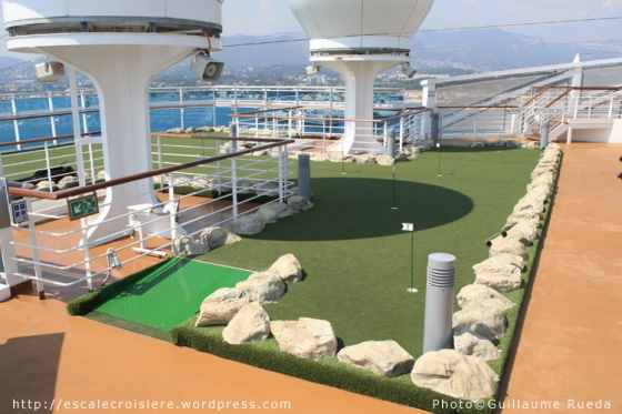 Royal Princess - Mini golf