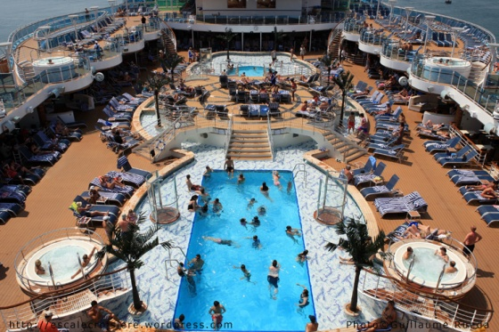 Royal Princess - Piscine principale