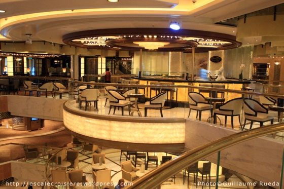 Royal Princess - Sushi Bar - Ocean Terrace