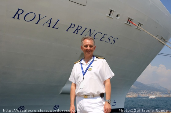 Royal Princess - Tony Draper - Captain