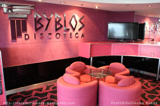 MSC Opera - Byblos discoteca
