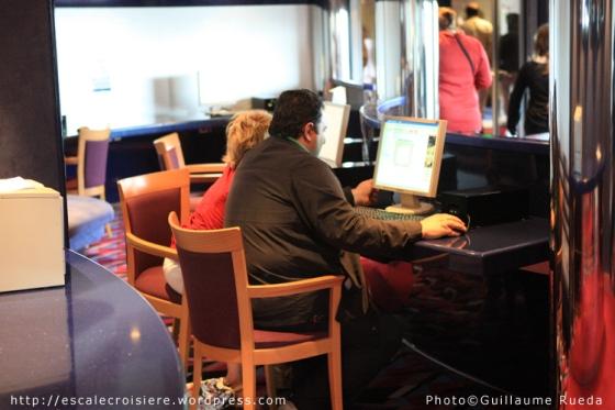 MSC Opera - Internet café
