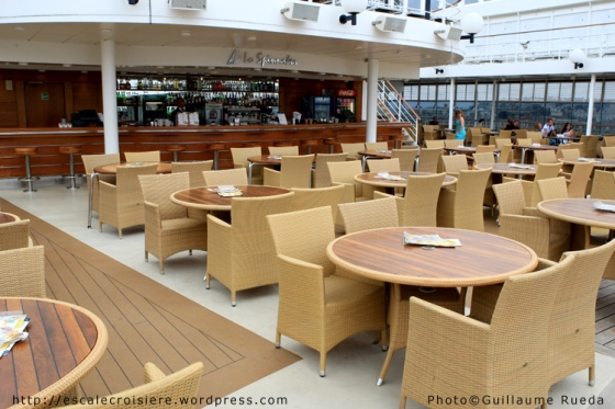 MSC Opera - Lo Spinnaker pool bar