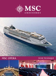 MSC Opera Plan des ponts