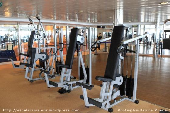 MSC Opera - salle de sport
