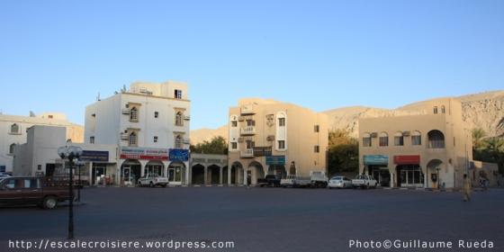 Khasab - centre ville