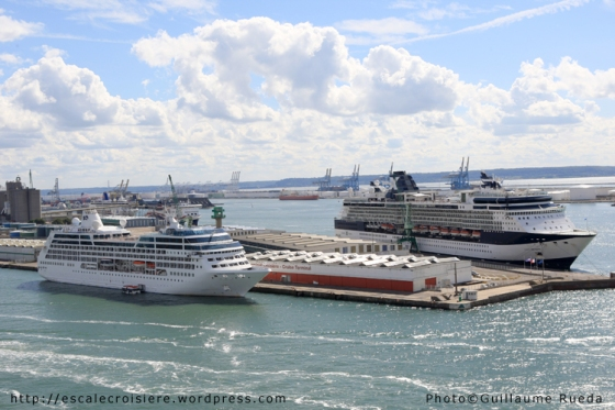 Le Havre - Triple escale - Grand Mistral - Ocean Princess - Celebrity Infinity