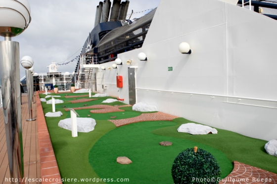 MSC Musica - Mini golf