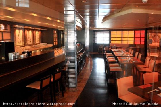 MSC Musica - Sushi bar