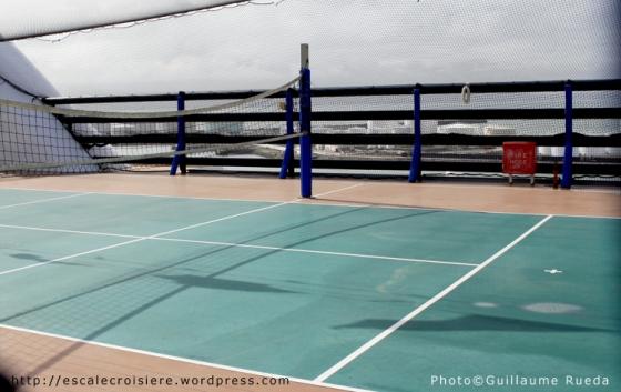 MSC Musica - Terrain de tennis