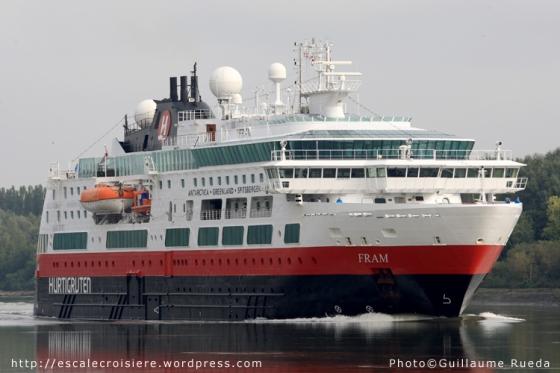 Fram - Hurtigruten - Bardouville