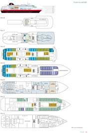 MS Fram - Hurtigruten - Plan des ponts