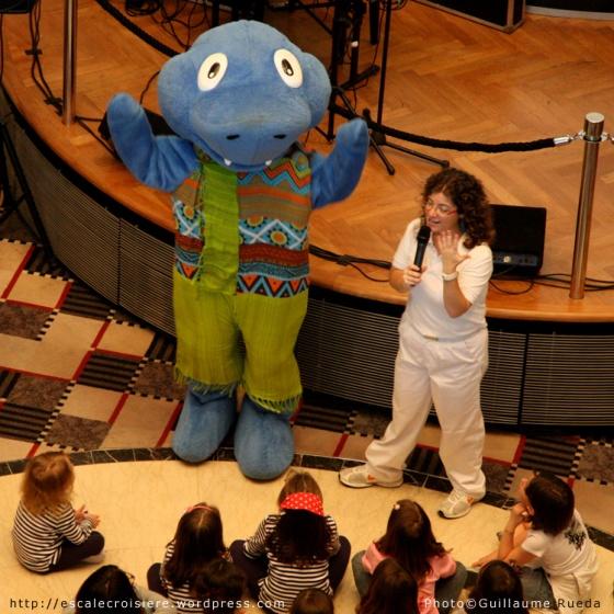 Costa Victoria - Squok la mascotte des enfants