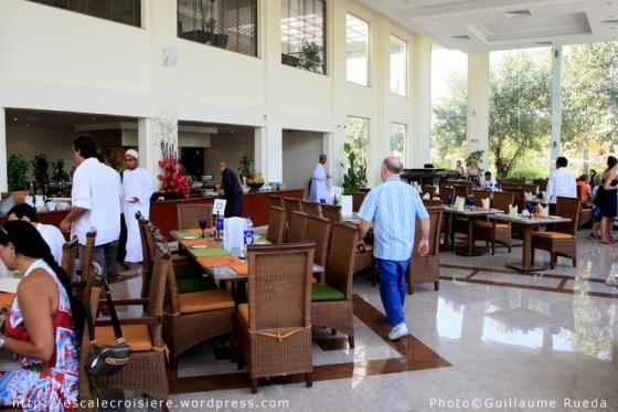 Mascate - Déjeuner au Al Nahda Resort