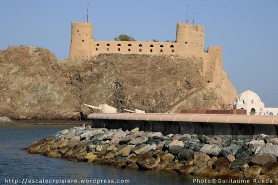 Mascate - Forts Jalali et Mirani -1