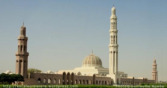 Mascate - Grande Mosquée du Sultan Qaboos