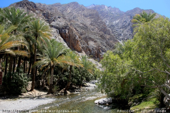 Mascate - Source d'eau chaude Nakhl
