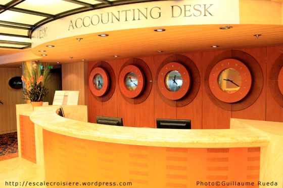 MSC Armonia - Accounting desk