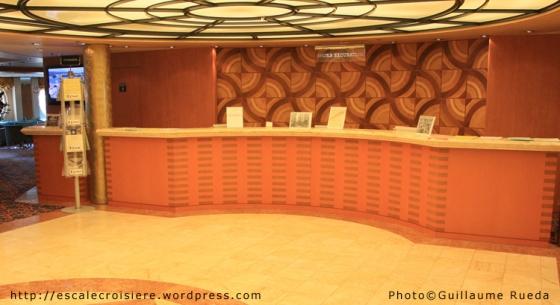 MSC Armonia - Bureau des excursions -1
