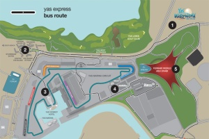 Plan Yas Express Abu Dhabi