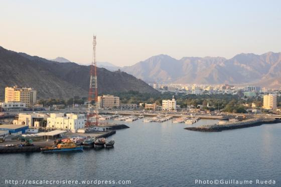 Port de Khor Fakkan
