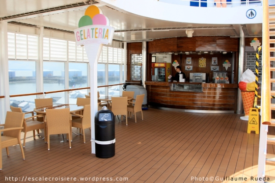 MSC Armonia - Bar à glaces