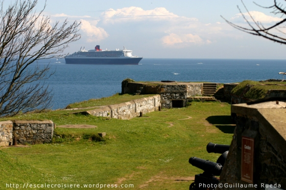 Queen Mary 2 - Guernesey