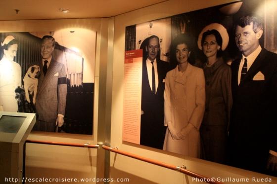 Queen Mary 2 - Musée
