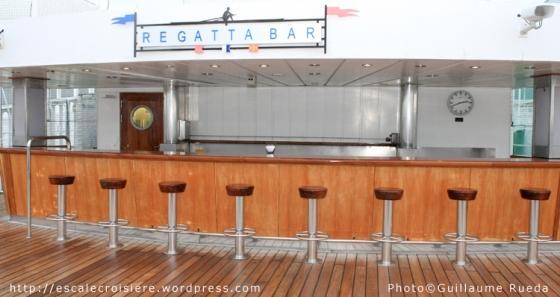 Queen Mary 2 - Regatta Bar
