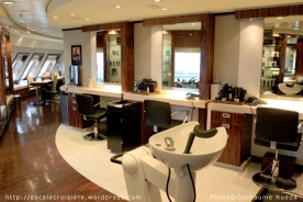 Queen Mary 2 - Salon de coiffure
