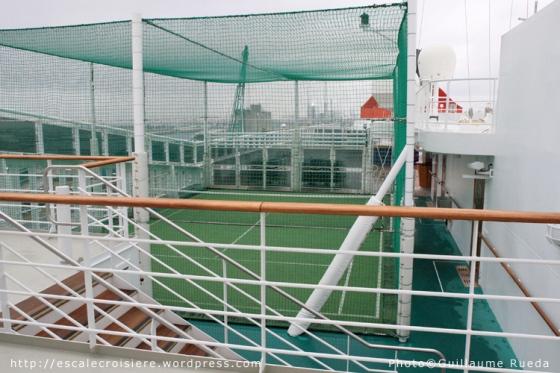 Queen Mary 2 - Terrain multisport