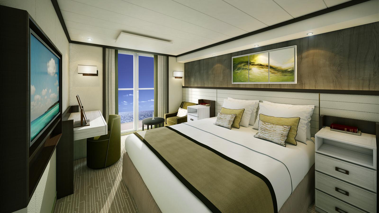 Britannia cabine double avec balcon blog escale croisi re for Balcon in english