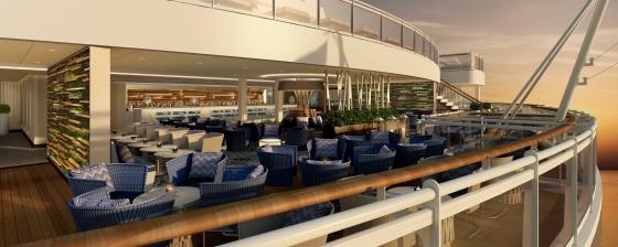 Britannia - Lido deck