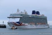 Britannia - P and O Cruises - Escale inaugurale Le Havre