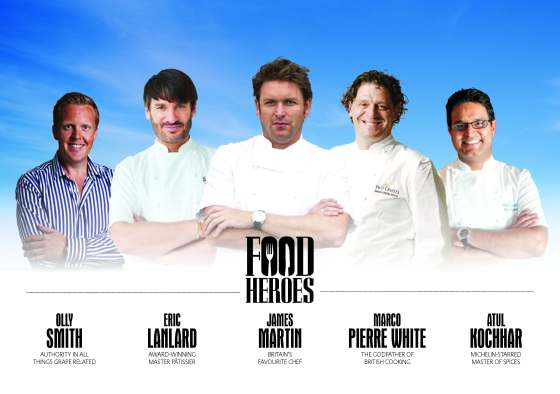 Britannia Food heroes - Les Chefs