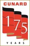 175 ans Cunard - Logo