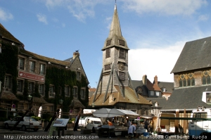 Honfleur - Clocher église Sainte Catherine