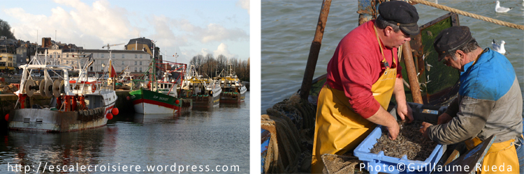 Honfleur pêcheurs
