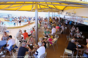 Costa Luminosa - Bar piscine Lido Delphinus