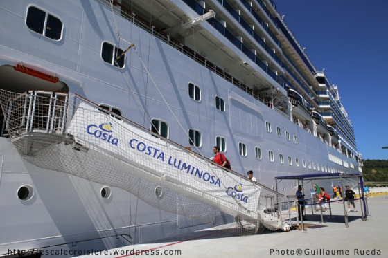 Costa Luminosa - Embarquement