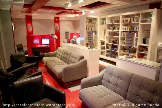Costa Luminosa - Internet et Bibliothèque