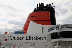 Queen Elizabeth - cheminée
