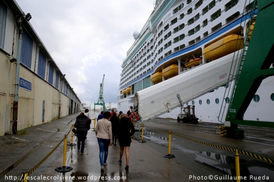 Adventure of the Seas - Embarquement