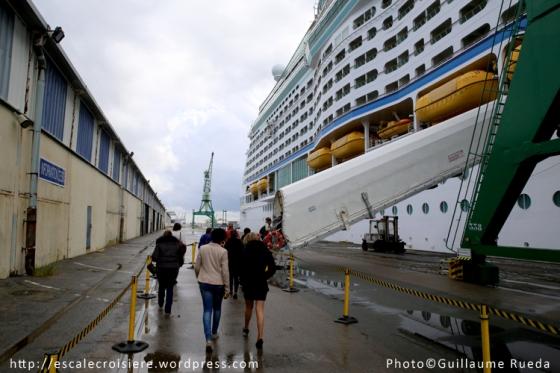 Adventure of the Seas - Embarquement