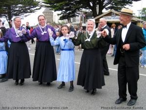 Brest - danseurs locaux