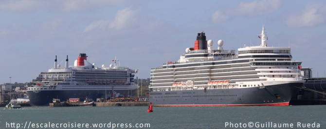 Queen Mary 2 - Queen Elizabeth