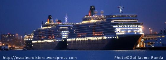 Queen Mary 2 - Queen Victoria - Queen Elizabeth