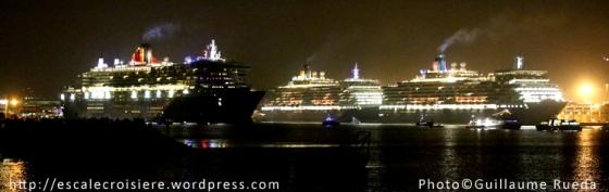 Queen Mary 2 - Queen Victoria - Queen Elizabeth -1