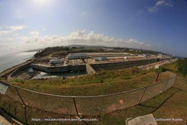 Canal de Panama - Ecluses Agua Clara Visitor Centor