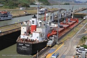 Canal de Panama - écluse de Miraflores